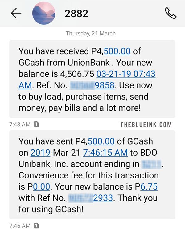 Paymaya To Gcash Transfer Fee